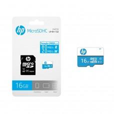HP 16GB MicroSDHC Class 10 (80MB/s) Memory Card