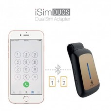 Smart iSim Duos Dual Sim Adaptor For Iphone - Turn Your iPhone To Dual Sim - Gold
