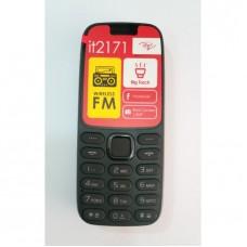 Itel 2171 Wireless FM, Torch Dual SIM Phone _Elegant Black