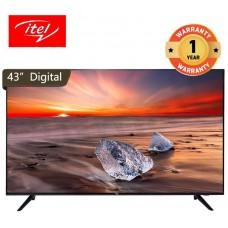 Itel S4310AE 43 inch TV Digital i-Cast FHD Satellite Television