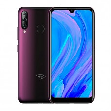 "Itel S15 6.088"" HD+ FullScreen, 16MP AI Front Camera, 1GB RAM + 16GB ROM, Android 9, Face ID & Fingerprint, 3000mAh"
