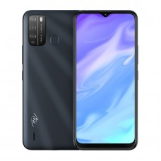 "Itel S16 6.5"" HD FullScreen, 16GB ROM + 1GB RAM, Android 10, 4000mAh, 8MP Triple Rear Camera, Face ID & Fingerprint"