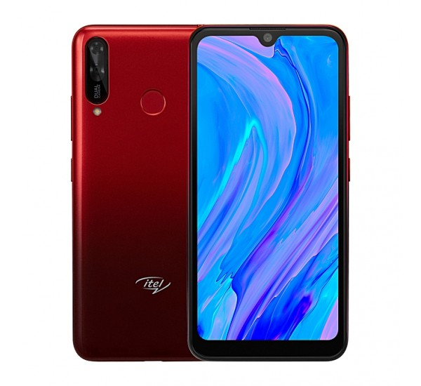 Itel S15, 16MP AI Front Camera, 1GB RAM + 16GB ROM, Android 9 Pie, Face ID & Fingerprint, 3000mAh