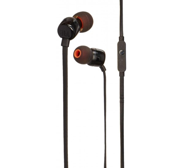 JBL T110 in Ear Headphones With Full Pure Bass Sound