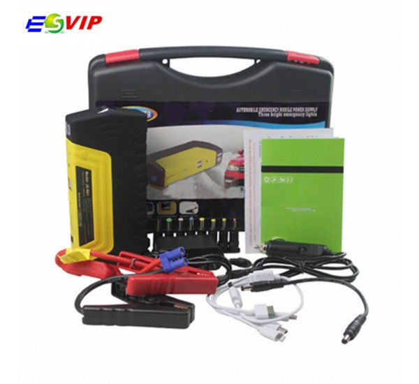 Fony Power Bank with Car Jump Starter, Tyre Inflator and LED Light 398000mah  KM09