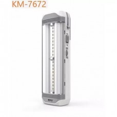 Kamisafe KM-7672 Rechargeable Portable Led Emergency Lamp