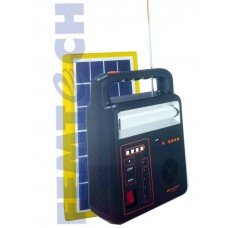 Kamisafe KM-923 Multi-Function Mobile Power Pack With Lamp , Radio