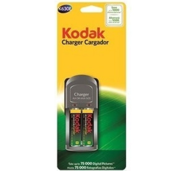 Kodak Charger + 2 Batteries K630e