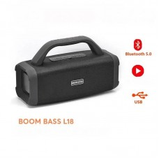 Boom Bass L18 Mini Portable Wireless Bluetooth Speaker Stereo Radio Music Subwoofer With Tf FM