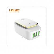 LDNIO A4405 USB Phone Charger 4 Ports Wall Travel Light Charger 5V 4.4A