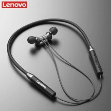 Lenovo HE05 Bluetooth 5.0 Magnetic Neckband Earphones IPX5 Waterproof Wireless Sport Earbuds with Noise Cancelling Mic