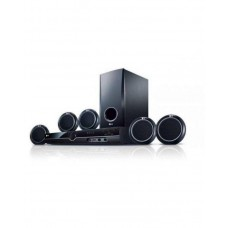 LG Home Theatre With Satellite Speaker - LG AUD 358- Black