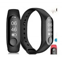 Smart Watch Health M3 Smart Bracelet - Black