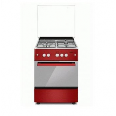 Maxi 6060 M4 F6B31G2 Standing Red Gas oven Cooker