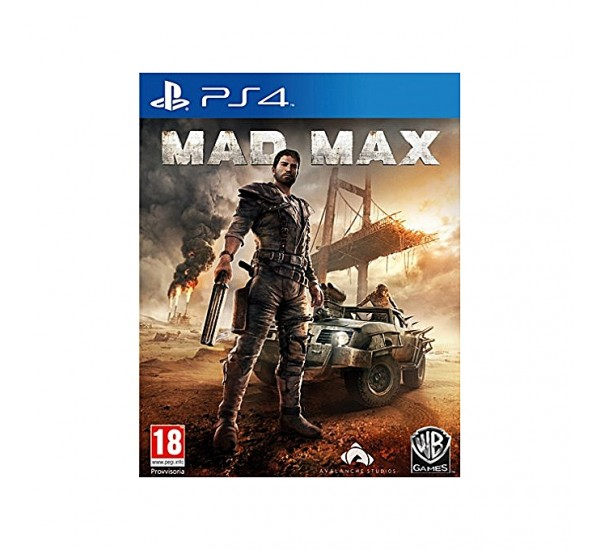 WB Games MAD MAX PS4 GAME CD