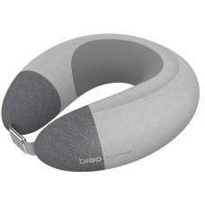 Breo iNeck Air 2 Massage Pillow, U Shaped Neck Massager with Heating Function & Deep Tissue Relax for Airplane, Car, Travel, Office, Home