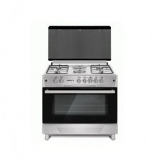 Maxi 6090 With 4 Gas + 2 Electric Auto-Ignition INOX Gas Cooker