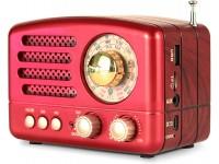 Meier M-160BT Retro Bluetooth Speaker, Portable AM..