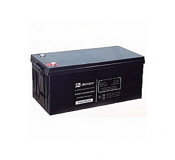 Mercury 12V, 200Ah Deep Cycle Inverter Battery