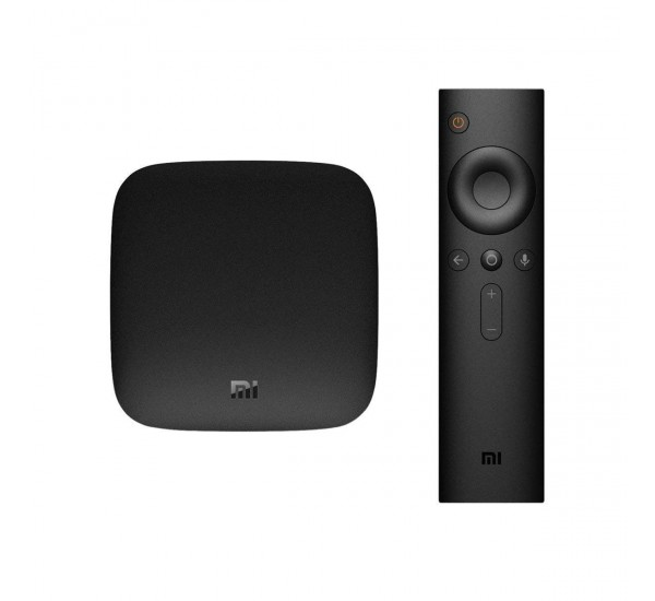 Xiaomi Mi Box S - 4K Ultra HDR TV Streaming Media Player with Voice Search Remote Powered By Android T.V