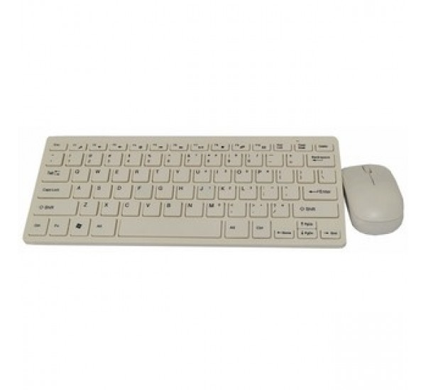2.4GHz Wireless Mini Keyboard and Mouse Combo