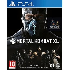 PS4 Mortal Combat XL (MKXL) Game CD