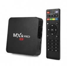 MXQ Pro Smart 4k Android TV Box Quad Core 1GB RAM, 8GB Storage