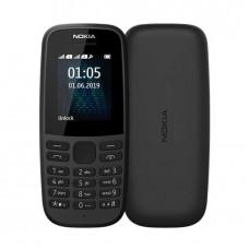 Nokia 105 Dual SIM, FM Radio, TORCH, 800mAh Battery - Black