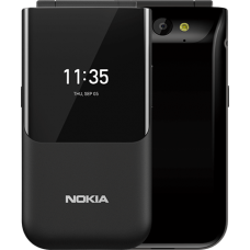 Nokia 2720 Flip Phone With 1,500 mAh Battery, 4G LTE, 2 Display Screen, Kais O.S (Whatsapp, Facebook)
