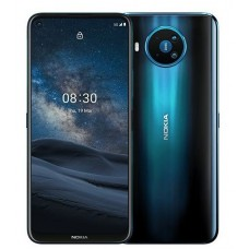 "Nokia 8.3 8GB RAM / 128 GB Storge, 6.81"" FHD+, Dual SIM, 64/12/2/2MP Rear Cameras, 24MP Front, 4500 MAh, 5G"