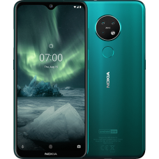 """Nokia 7.2 - Android 9.0 Pie - 6GB RAM, 128 GB - 48MP Triple Camera - 6.3"""" FHD+ HDR Screen"""
