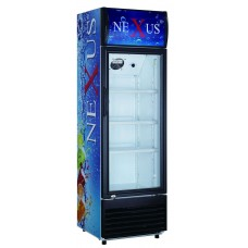 NEXUS NX-401 401 LTR UPRIGHT SHOWCASE REFRIGERATOR
