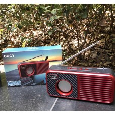 OKCY-C3 Loud Bass Bluetooth Speaker Wireless with FM Radio, MP3