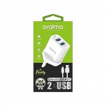 Oraimo CHARGER KIT 2 X USB