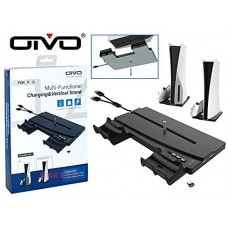 OTVO Multi Functional Charging Vertical Stand For Sony PS5