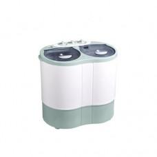 Polystar 5.7KG Top Loader Double Tub Washing Machine