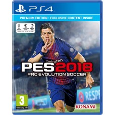 Sony Playstation 4 PES 2018 (PS4) PES 18 Game