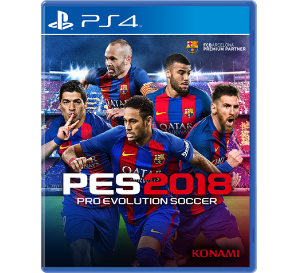 PES 2018 Game Disc For Play Station 4