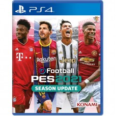 SONY PS4 Konami Pro Evolution Soccer PES 2021 Game CD