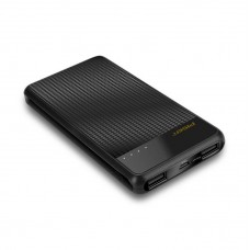 PISEN D213 10000mAh Dual USB Output 2.1A Slim Mobile Universal Power Bank