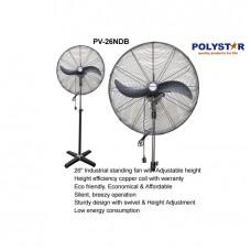 Polystar 26 Inches Industrial Standing Fan