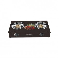 Polystar PV-KGY002A Gas Cooker Top 2 Burner With Tempered Glass
