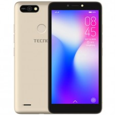 "Tecno POP 2F (B1F) 5.5"" Android 8.1, 16GB ROM + 1GB RAM, 8+5MP Beauty Camera, Fingerprint, Face ID, 2400mAh Battery"