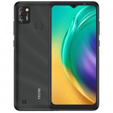 "Tecno POP 4 Pro (BC3) 6.52"" Screen, 16GB ROM + 1GB RAM, 5000mAh, 4G, Android 10, 8MP Dual Camera, Fingerprint+ Face ID"