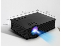 LED Projector 1080P HD UC68 Portable Multi-Media P..