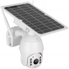 Intelligent Solar Energy Surveillance CCTV System, IP66 Waterproof 4G Alert PTZ Camera with Night Vision, HD 1080P PIR Security Camera