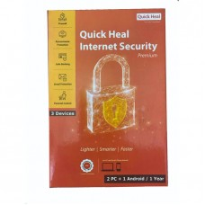 Quick Heal Internet Security Premium 2 PC USER + Android 1 Device