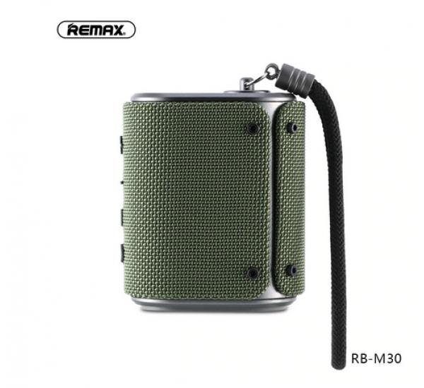 Remax RB-M30 Fashion Outdoor Speaker IPX6 Waterproof Dust-proof Bluetooth 4.2 Built-in Microphone Portable loudspeaker