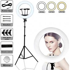 """RL-21"""" Led Ring Light 21 Inch Photographic lighting 2700-6500K LED Ring Lamp With tripod Remote Ring Light For Camera, Mobile And MakeUp"""