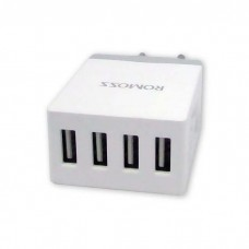 Romoss Power CUBE- 4 Port Adapter Charger 10.5W